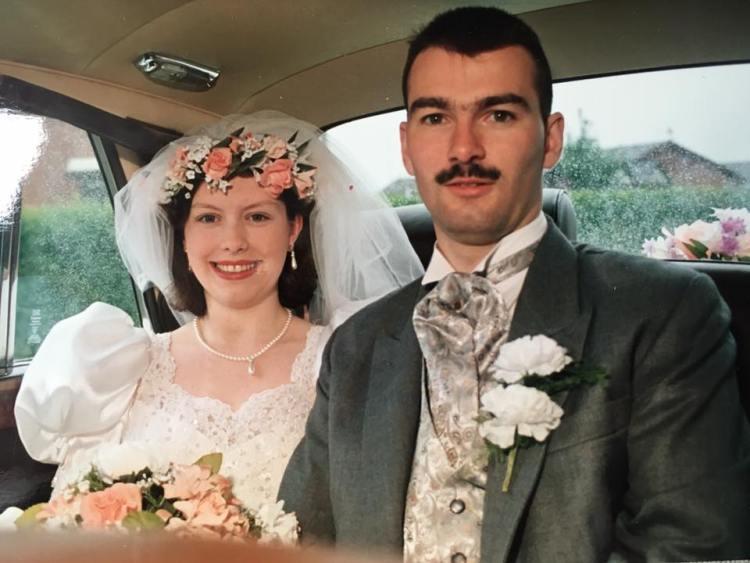 Anniversary photo - Eddie and Julies wedding