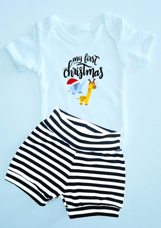 my first Christmas Elie Outfit
