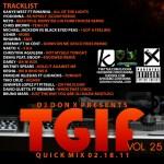 DJ Don X TGIF Quick mix Vol 25