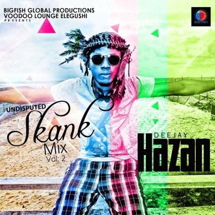 DJ Hazan - Shank Mix Vol 2 [Artwork]