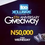 tooXclusive 5th Anniversary Giveaway Week 5 – WINNERS!!