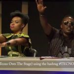 #TecnoOwnTheStage: Yemi Alade And M. I Are Totally Blown Away By This Performance!!!