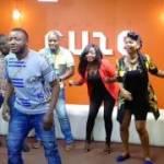 "Watch MC Galaxy Teach Yemi Alade How To Dance To ""Komolopcholop"""