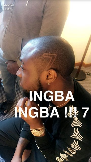 Davido's New Haircut Causes Major Stir Online