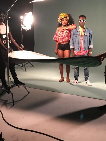 IMG 2042 e1505305820657 - BTS PHOTOS: Omihanifa – Wave Remix f. Olamide