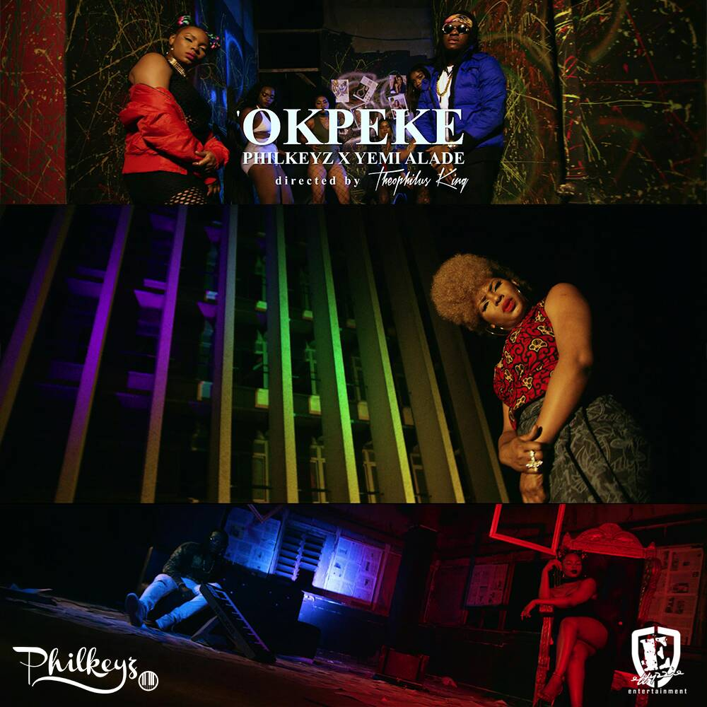 PhilKeyz Okpeke ft. Yemi Alade Video Poster - Philkeyz – Okpeke ft. Yemi Alade [New Video]