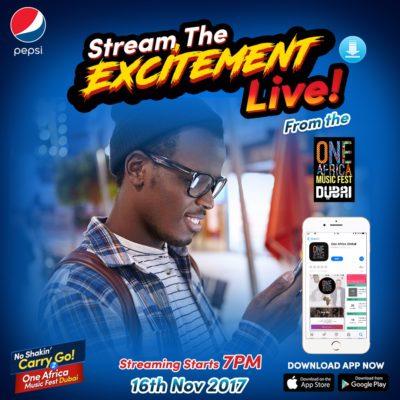 Pepsi Set To Thrill Fans With More On The NoShakinCarryGo2Dubai Movement