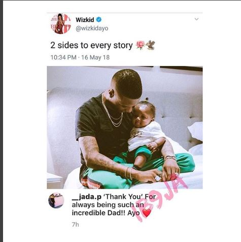 Wizkid Reacts To Babymamas Calling Him A 'Deadbeat Dad'