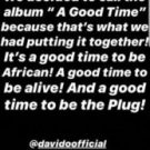 HOT!!! Davido Unveils Title To His Forthcoming Sophomore Album & Number Of Tracks