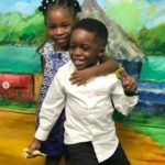 See These Beautiful Pictures Of Davido's Daughter; Imade & Tiwa Savage's Son, Jamal At The NickFest 2019 During The Weekend