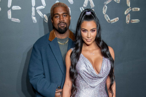 Kanye West Complains About Kim Kardashian's Sexy Outfit As She Claps-Back 1