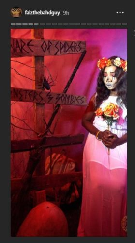 "Falz Shares Photos From His ""Haunted House"" Themed Birthday Party « tooXclusive"