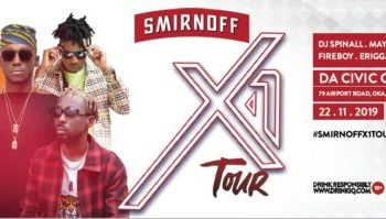 SMIRNOFF TOUR  BRINGING THE LOUDEST NEON RAVE TO BENIN « tooXclusive