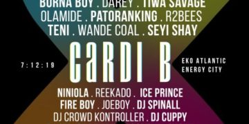 Livespot X Pageant: Burna Boy, Fire Boy, Tiwa Savage and Others To Perform Alongside Cardi B « tooXclusive