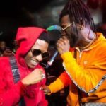 Watch The Moment Wizkid's Phone Dropped On Stage At Burna Boy's SSE Arena Show In London