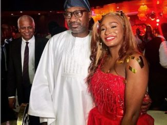 Femi Otedola Gives Daughter, DJ Cuppy, A Hot Chase As He Celebrates 1 Million Instagram Followers