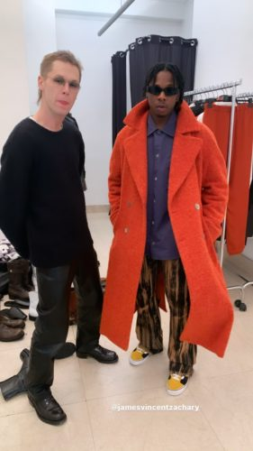 Runtwon Turns Mannequin, Hits The Runway For Offwhite At The Men's Fashion Week In Paris « tooXclusive