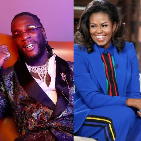"Michelle Obama Lists Burna Boy's ""My Money My Baby"" In Her Workout Playlist For 2020 « tooXclusive"