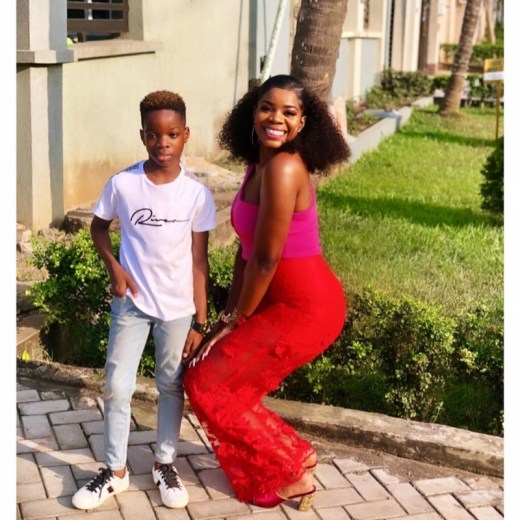 Wizkid's First Baby Mama, Shola Ogudu Gushes Over Son, Tife As His 9th Birthday Approaches « tooXclusive