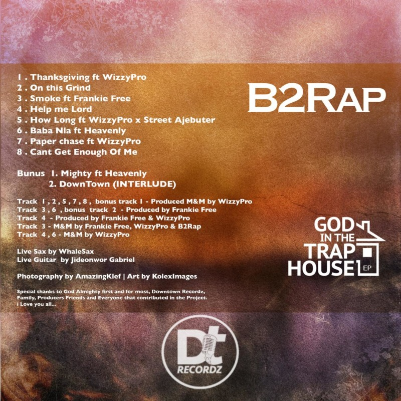 "B2Rap - ""God In The Trap House"" (EP) « tooXclusive"