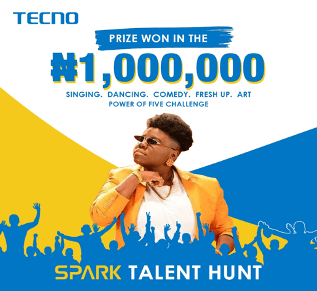 TECNO Wraps Up Spark 5 Talent Hunt, Giving Away 1 Million Naira « tooXclusive