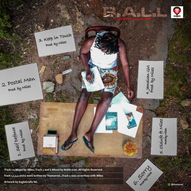 """[EP] Thamarvel – """"BALL"""" (Better At Love Letter) 1"""