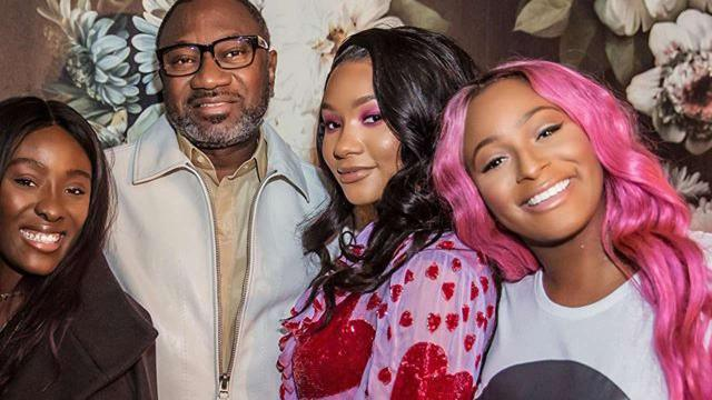 Femi Otedola Gifts DJ Cuppy & Her Sisters Customized Ferrari Cars Worth 83 Million Naira Each 1