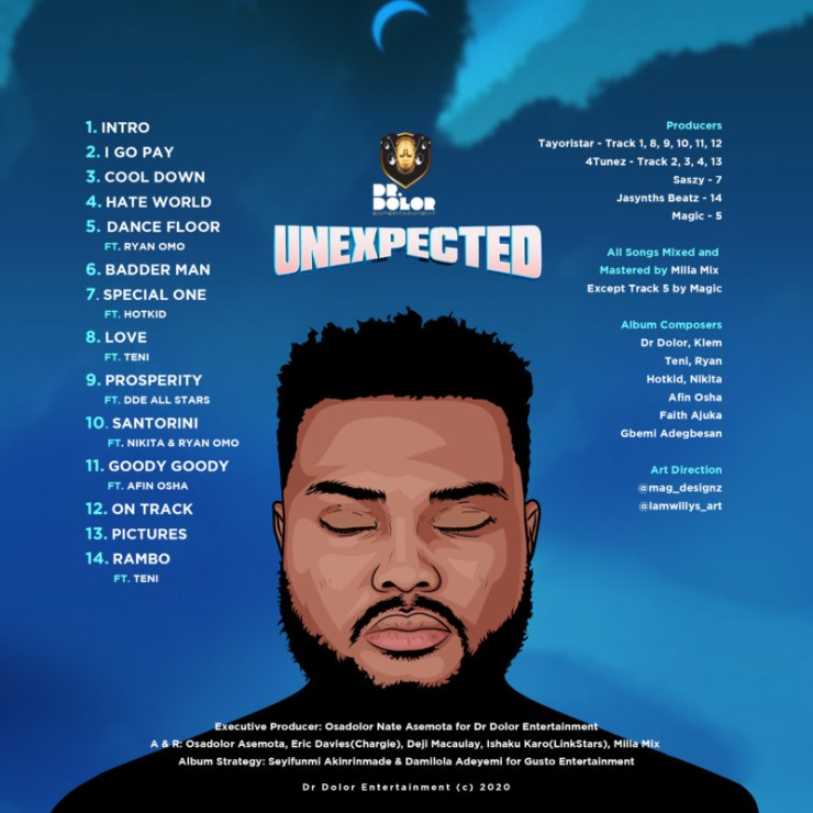 """[Album] Dr Dolor – """"Unexpected"""" Album 7"""
