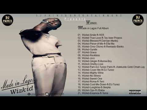 "[Mixtape] DJ Prince – ""Made In Lagos Album Mix"" ft. Wizkid"