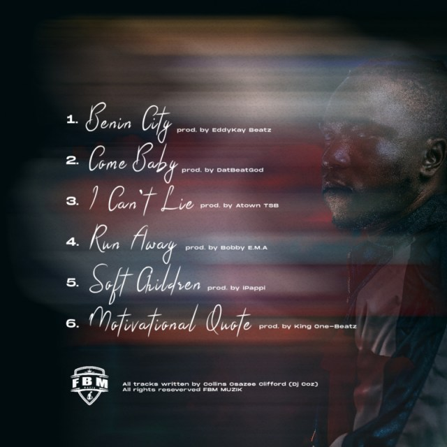"""DJ COZ – """"Multi Genre"""" EP 1"""