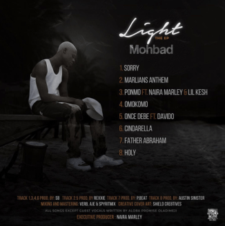 """[EP] Mohbad – """"Light"""" The EP ft. Davido, Lil Kesh, Naira Marley"""