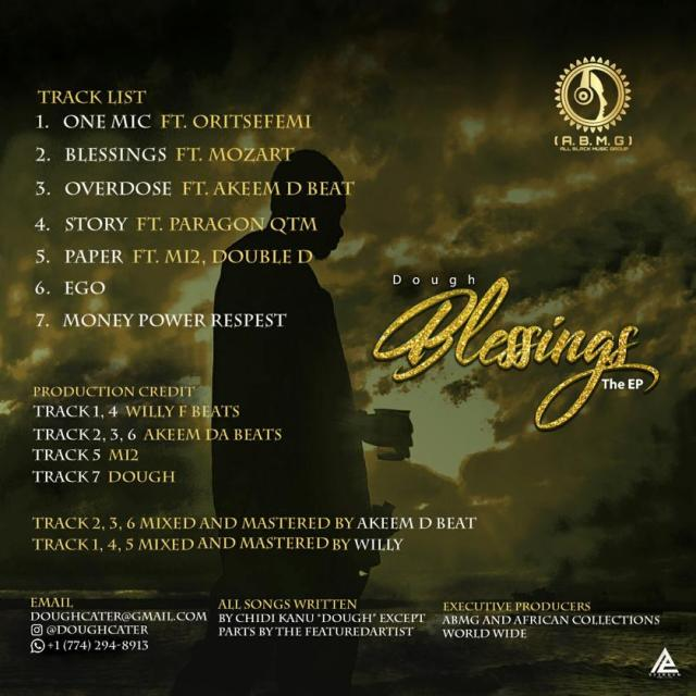 """Dough – """"Blessings"""" The EP 2"""
