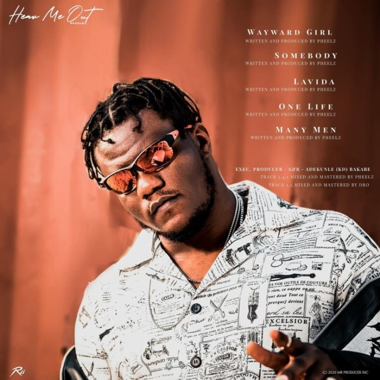 "[EP] Pheelz – ""Hear Me Out"" The EP 5"