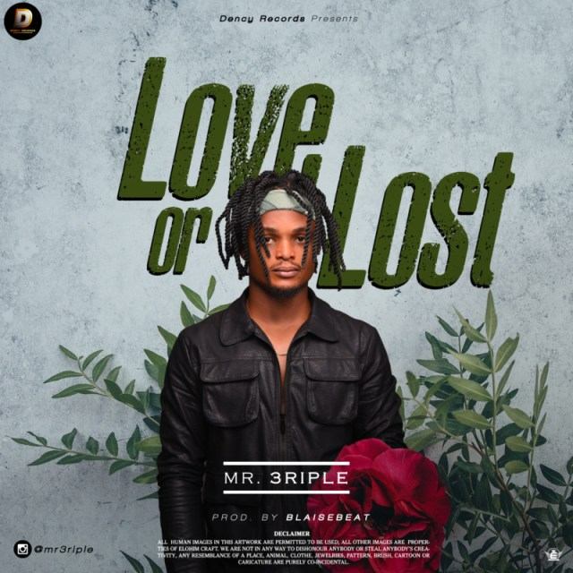 """Mr 3riple – """"Love or Lust"""" (Prod. by Blaisebeat) 1"""