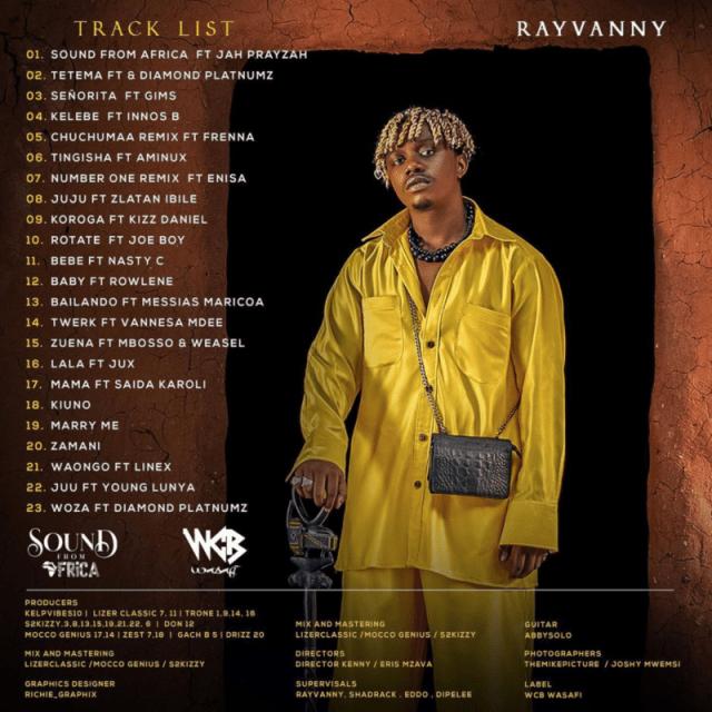 "[Album] Rayvanny – ""Sound From Africa"" ft. Innoss B… 1"
