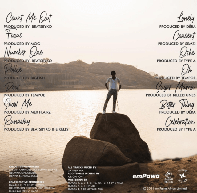 Joeboy Unveils The Official Tracklist For His Debut Album 2