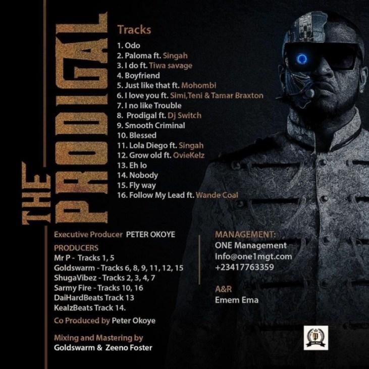 "[Album] Mr P – ""The Prodigal"" Album f. Wande Coal, Tiwa Savage, Teni 4"