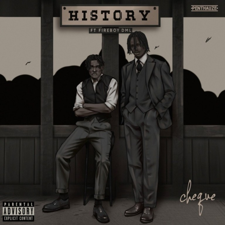 Cheque ft Fireboy DML History mp3