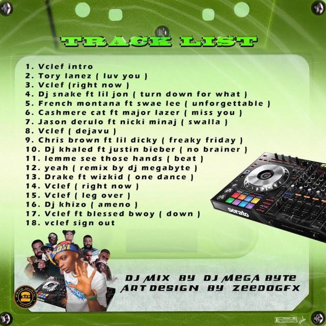 """[Mixtape] Vclef x DJ Megabyte – """"Right Now Mix"""" 2"""