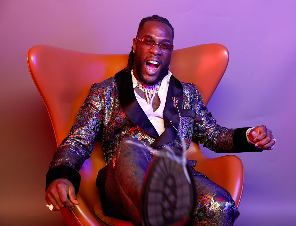 Burna Boy Celebrates As 'Ye' Gets Certified Gold In The US 1