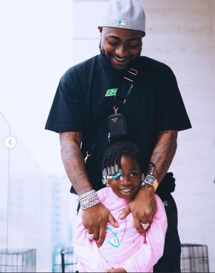 Davido Surprises His Daughter, Imade With A Dior Saddle Bag Worth Over #1.7 Million 1