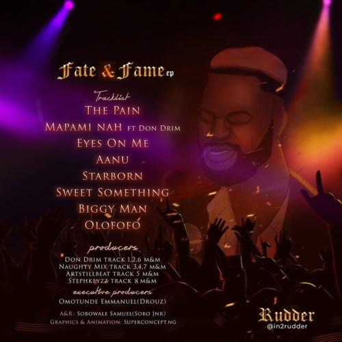 "Rudder – ""Fate & Fame"" EP Album Download"