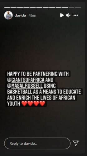 Davido Set To Build Basketball Courts Across Africa 2