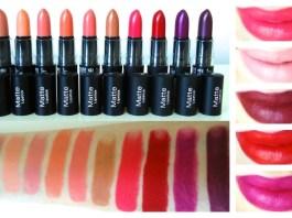 NYX Lipstick Matte Review
