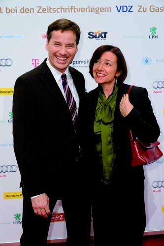 Stephan Scherzer und Ehefrau Gabriele