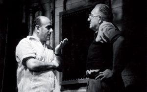 """Artur Brauner arbeitete auch mit Fritz Lang zusammen – der war 1933 emigriert und 1956 nach Deutschland zurückgekehrt. """"Der Tiger von Eschnapur"""" ist ein Beispiel dafür."""