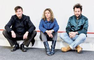 Christian Morin, Katja Lucker und Martin Hossbach, künstlerisches Leitungsteam Pop-Kultur - Foto: Patrick Desbrosses