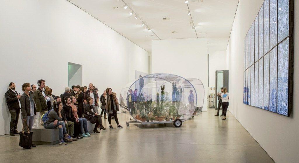 """Austtellung """"StadtBild.Xenopolis"""" in der KunstHalle by Deutsche Bank - Foto: Oana Popa"""