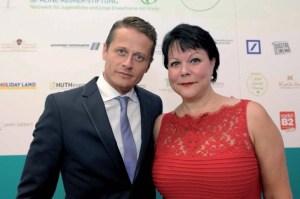 Roman Knižka und Marina Reimer