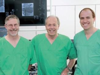 v. l. n. r. PD Dr. med. Michael Laule, Prof. Dr. med. Dietrich Andresen und PD Dr. med. Leif-Hendrik Boldt - Foto: Herzmedizin.Berlin
